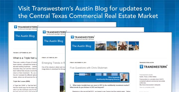 "<span class=""blue1618""><strong>THE AUSTIN BLOG</strong></span><br/><a href=""http://transwesternaustin.blogspot.com/"" class=""green1416"">Click here to read more</a>"