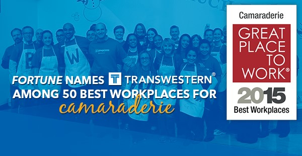 "<span class=""blue1618""><strong>Award marks Transwestern's third recognition from Fortune magazine and Great Place to Work</strong></span><br/><a href=""http://reviews.greatplacetowork.com/transwestern"" class=""green1416"">Click here to read more</a>"