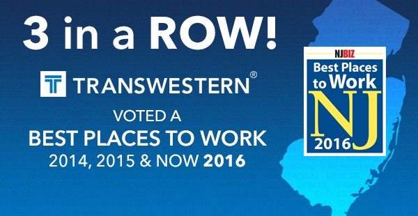 "<span class=""blue1618""><strong>Transwestern named one of the Best Places to Work in New Jersey for the third consecutive year</strong></span><br/><a href=""http://team.transwestern.net/Media/News/Pages/TRANSWESTERN-NAMED-ONE-OF-THE-BEST-PLACES-TO-WORK-IN-NEW-JERSEY-FOR-THIRD-CONSECUTIVE-YEAR.aspx"" class=""green1416"">Click here to read more</a>"