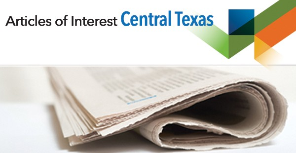"<span class=""blue1618""><strong>Recent Articles of Interest from the Central Texas Area.</strong></span><br/><a href=""http://transwestern-sa.typepad.com/my_weblog/"" class=""green1416"">Click here to read more</a>"